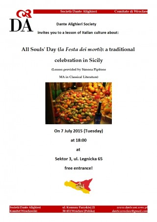 All Souls' Day in Sicily