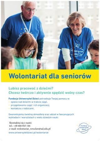 Fundacja Uniwersytet Dzieci_wolontariat_plakat-1
