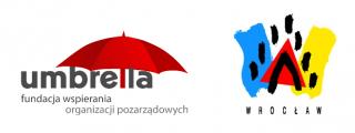logotypy miasto umbrella