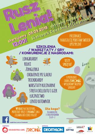 Plakat Rusz Lenia!