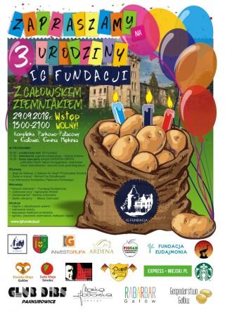 Zaproszenie na 3 urodziny IGFundacji
