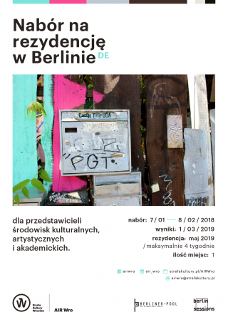 Berlin Sessions Residency PLAKAT ONLINE