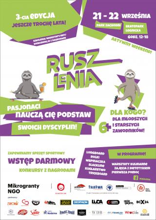 plakat Rusz Lenia