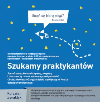 plakat Praktykanci